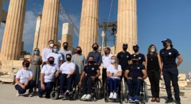 Στην Ακρόπολη η Ελληνική Παραολυμπιακή Ομάδα  Στην Ακρόπολη η Ελληνική Παραολυμπιακή Ομάδα                                                                                     275x150