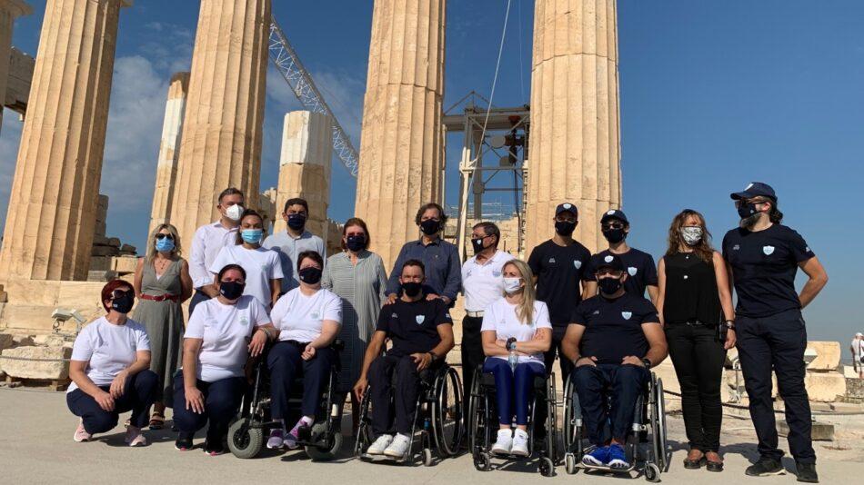 Στην Ακρόπολη η Ελληνική Παραολυμπιακή Ομάδα  Στην Ακρόπολη η Ελληνική Παραολυμπιακή Ομάδα                                                                                     950x534