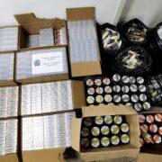 Συλλήψεις στην Ξάνθη για παράβαση της νομοθεσίας περί εθνικού τελωνειακού κώδικα  Συλλήψεις στην Ξάνθη για παράβαση της νομοθεσίας περί εθνικού τελωνειακού κώδικα                                                                                                                                                        180x180