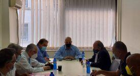 Σύσκεψη για το φαινόμενο της ακαρπίας στην καλλιέργεια της ελιάς  Σύσκεψη για το φαινόμενο της ακαρπίας στην καλλιέργεια της ελιάς                                                                 08