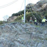 Φράχτης προστασίας από βραχοπτώσεις στο δρόμο Λάρισας-Σπηλιάς  Φράχτης προστασίας από βραχοπτώσεις στο δρόμο Λάρισας-Σπηλιάς                                                                                                                     180x180