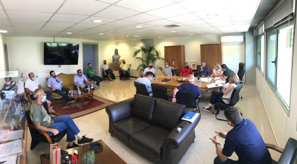 Σύσκεψη για την άρδευση της Κωπαΐδας  Σύσκεψη για την άρδευση της Κωπαΐδας siskepsi kopaida2 950x525