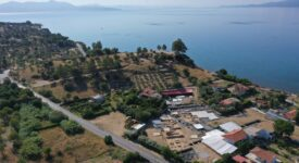 Ελληνο-Ελβετικές ανασκαφές 2021 στο ιερό της Αμαρυσίας Αρτέμιδος στην Αμάρυνθο                                                                                  275x150