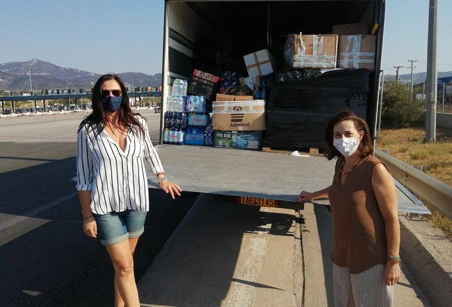 Νέα αποστολή βοήθειας από την Περιφέρεια Αττικής στους πυρόπληκτους κατοίκους της Εύβοιας