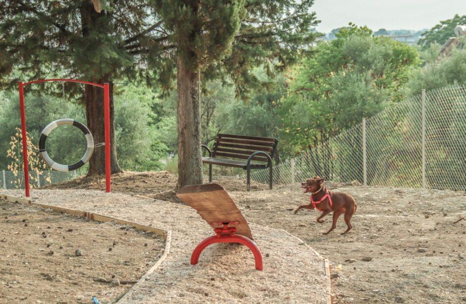 Πάρκο σκύλων με ανακυκλωμένα υλικά στα Τρίκαλα                                                                                        950x619