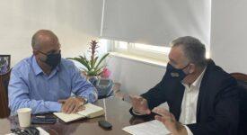 Φθιώτιδα: Συνάντηση Υφυπουργού Αγροτικής Ανάπτυξης με Δήμαρχο Λαμιέων                                                                                                                  275x150