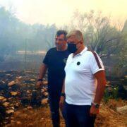 Σε πλήρη κινητοποίηση η Περιφέρεια Αττικής για την αντιμετώπιση των πυρκαγιών σε Κερατέα και Βίλια photo keratea 3 180x180