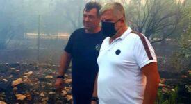 Σε πλήρη κινητοποίηση η Περιφέρεια Αττικής για την αντιμετώπιση των πυρκαγιών σε Κερατέα και Βίλια photo keratea 3 275x150
