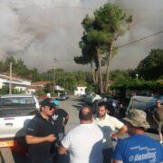 Ανεξέλεγκτη η πυρκαγιά στην Εύβοια  Φάνης Σπανός: «Παλεύουμε να σώσουμε τον τόπο μας»-Ανεξέλεγκτη η πυρκαγιά στην Εύβοια pyrkagia07ayg214 180x180