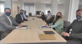 Επίσκεψη Σεβασμιωτάτου Μητροπολίτη Φθιώτιδος Συμεών στην έδρα της Περιφέρειας Στερεάς Ελλάδας simeon spanos sinergates 275x150