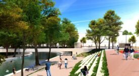Τρίκαλα: Ανάπλαση της παρόχθιας ζώνης του Ληθαίου ποταμού                                                                                            275x150