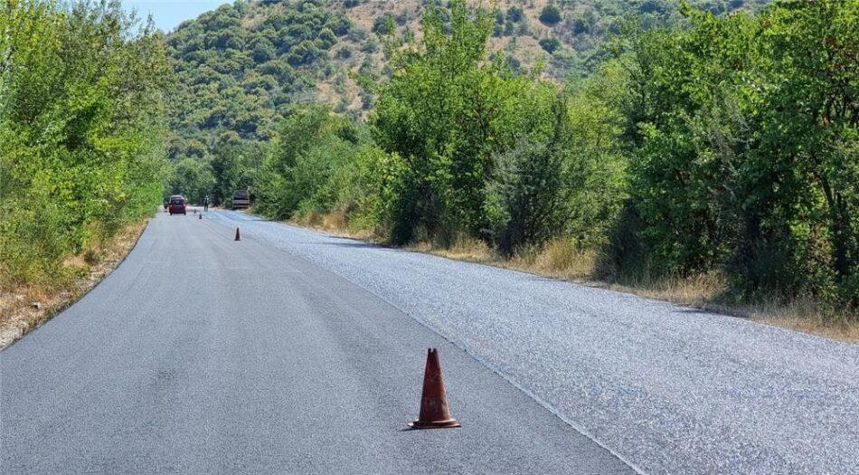 Ασφαλτοστρώσεις δρόμων στο εθνικό κι επαρχιακό οδικό δίκτυο της Καρδίτσας                                                                                                                                           950x525