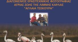 Διαγωνισμός ερασιτεχνικής φωτογραφίας άγριας ζωής της λίμνης Κάρλα                                                                                                                               275x150