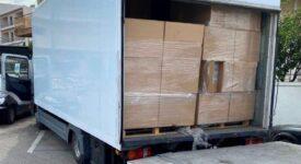 Εντοπισμός φορτηγού με 165.000 λαθραία πακέτα τσιγάρων στον Ασπρόπυργο                                            165