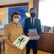 Συνάντηση εργασίας της Υπουργού Πολιτισμού με τον Πολωνό πρέσβη                             Artur Lompart 180x180