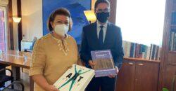 Συνάντηση εργασίας της Υπουργού Πολιτισμού με τον Πολωνό πρέσβη                             Artur Lompart 250x130