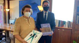 Συνάντηση εργασίας της Υπουργού Πολιτισμού με τον Πολωνό πρέσβη                             Artur Lompart 275x150