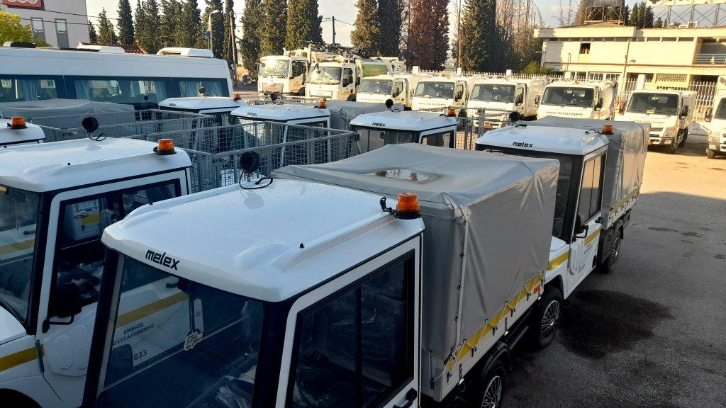Ο Δήμος Θεσσαλονίκης απέκτησε νέα οχήματα                                                                               1