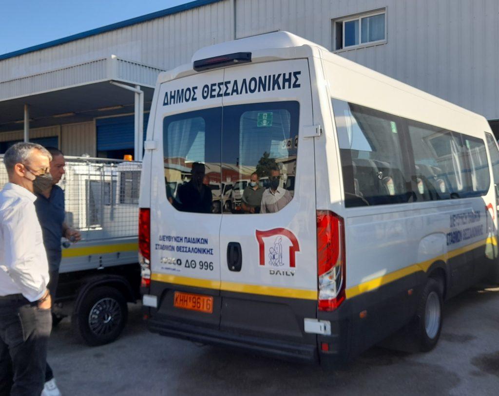 Ο Δήμος Θεσσαλονίκης απέκτησε νέα οχήματα                                                                               2