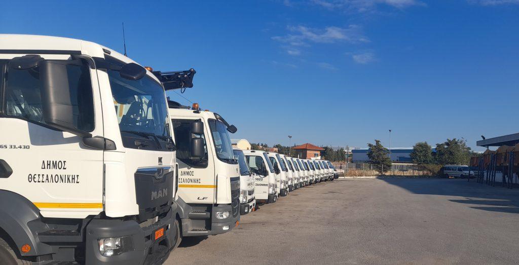Ο Δήμος Θεσσαλονίκης απέκτησε νέα οχήματα                                                                               5