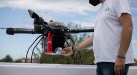 Παράδοση φαρμάκων με drone στα Τρίκαλα                                        drone                       275x150