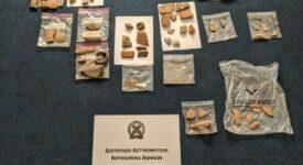 Συλλήψεις αλλοδαπών στο αεροδρόμιο της Αθήνας για αρχαιοκαπηλία                                                                                                                         275x150