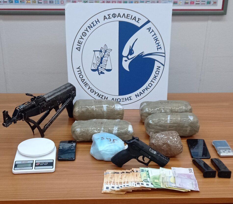 Σύλληψη διακινητή ναρκωτικών στο Παγκράτι                                                                                950x830