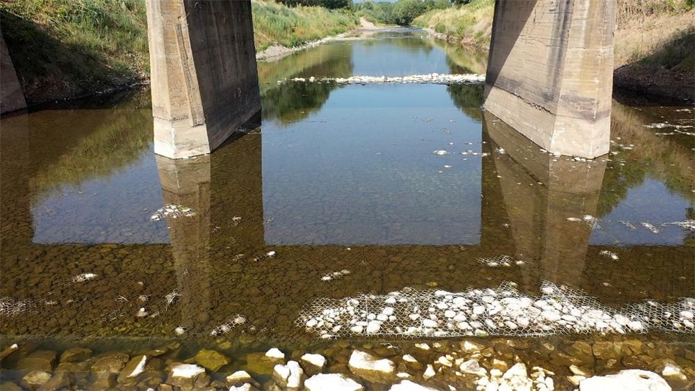 Τρίκαλα: Αντιπλημμυρικά έργα στον Πορταϊκό ποταμό