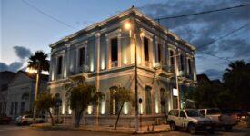 Φωταγωγήθηκε το κτήριο που στεγάζει το Κεντρικό Λιμεναρχείο Καλαμάτας                                                                                                                                    275x150