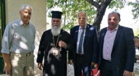 Επίσκεψη του Αντιπεριφερειάρχη Φωκίωνα Ζαΐμη σε Σιγούνι Καλαβρύτων και Αρχαίους Λουσούς 16078 01 275x150