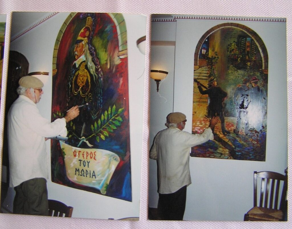 Νεώτερο μνημείο η λαϊκή τέχνη του Γιώργου Σαββάκη στις ταβέρνες της Πλάκας 2