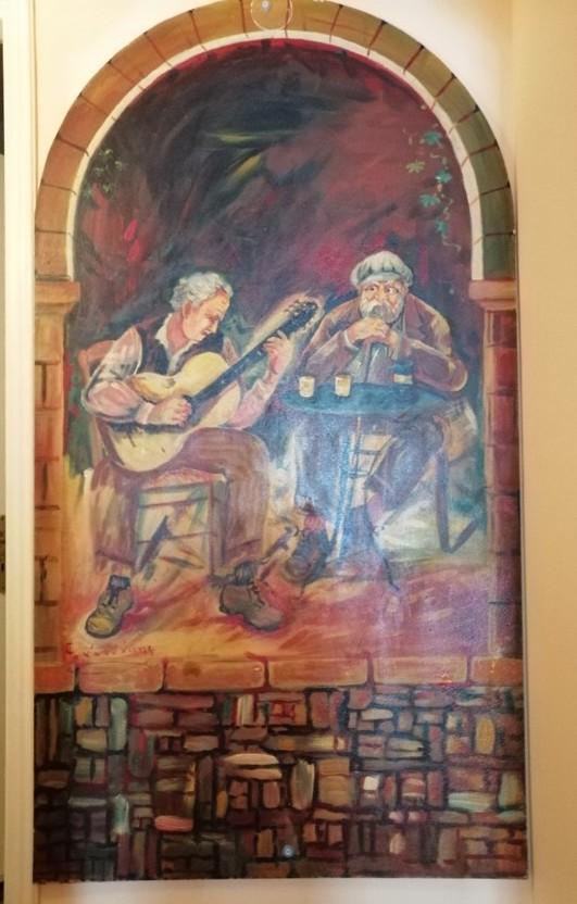 Νεώτερο μνημείο η λαϊκή τέχνη του Γιώργου Σαββάκη στις ταβέρνες της Πλάκας 6