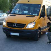 Έλεγχοι μικτών κλιμακίων Περιφέρειας Αττικής και Τροχαίας σε σχολικά λεωφορεία IMGL7084 180x180