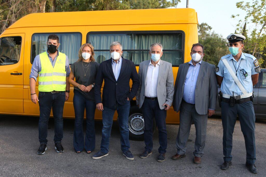 Έλεγχοι μικτών κλιμακίων Περιφέρειας Αττικής και Τροχαίας σε σχολικά λεωφορεία IMGL7344 1024x683