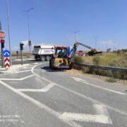 Εργασίες οδικής ασφάλειας στο δίκτυο της Λάρισας d45007a 180x180