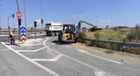 Εργασίες οδικής ασφάλειας στο δίκτυο της Λάρισας d45007a 275x150
