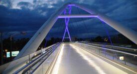 Νέα γέφυρα πεζών στο ύψος του Π. Φαλήρου επί της Λεωφόρου Ποσειδώνος photo gefyra 2 275x150