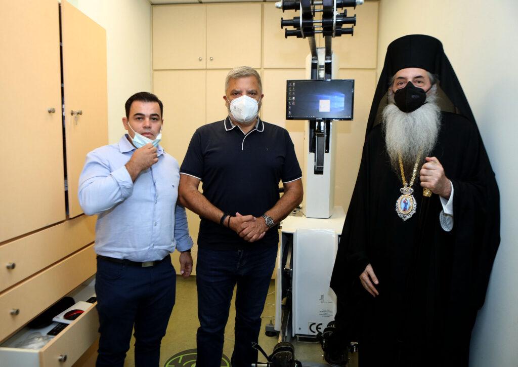 Η Περιφέρεια Αττικής δώρισε μηχάνημα κινησιοθεραπείας στο Γηροκομείο Πειραιώς photo girokomeio 3 1024x725