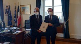 Συνάντηση του Προέδρου της ΚΟΦ Ελλάδας-Σαουδικής Αραβίας με τον Πρέσβη της Σαουδικής Αραβίας στην Αθήνα                                                                                                                                                                                                 275x150