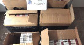 Σύλληψη αλλοδαπού στην Ξάνθη για κατοχή 8.900 λαθραίων πακέτων τσιγάρων                                                                           8