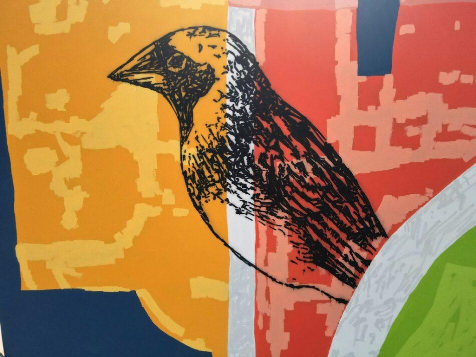 Mεγάλη τοιχογραφία στο δημοτικό σχολείο Μαντουδίου DJI 0433 1024x768 950x713