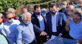 Ο Περιφερειάρχης Στερεάς Ελλάδας επισκέφθηκε έργα αγροτικών υποδομών στη Φωκίδα spanos mornos 275x150